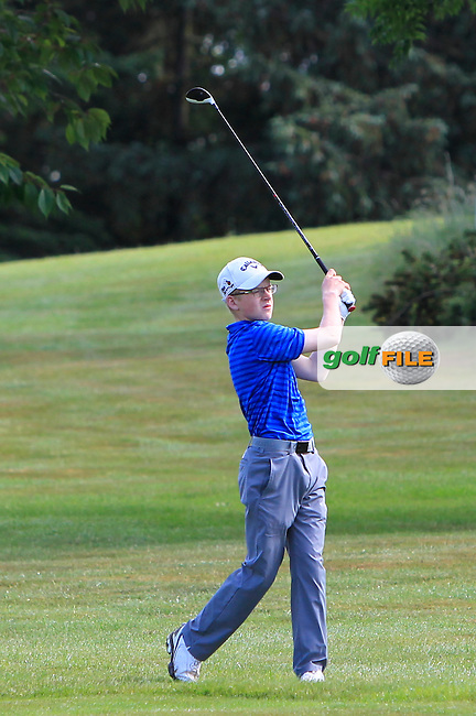 David Kitt (Athenry) on the 12th during Round 3 of the 2016 Connacht Strokeplay Championship at Athlone Golf Club on Sunday 12th June 2016.<br /> Picture:  Golffile | Thos Caffrey
