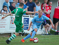 Bolton Wanderers' Dan Wright in action<br /> <br /> Photographer Alex Dodd/CameraSport<br /> <br /> Football Pre-Season Friendly - Atherton Collieries v Bolton Wanderers - Tuesday 10th July 2018 - Alder House - Atherton<br /> <br /> World Copyright &copy; 2018 CameraSport. All rights reserved. 43 Linden Ave. Countesthorpe. Leicester. England. LE8 5PG - Tel: +44 (0) 116 277 4147 - admin@camerasport.com - www.camerasport.com