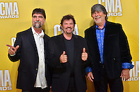 NASHVILLE, TN - NOVEMBER 1: Alabama on the Macy's Red Carpet at the 46th Annual CMA Awards at the Bridgestone Arena in Nashville, TN on Nov. 1, 2012. © mpi99/MediaPunch Inc. /NortePhoto .<br />