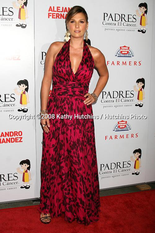 "Daisy Fuentes arriving at the Padres Contra El Cancer's 2008 ""El Sueno De Esperanza"" Gala at the Grand Ballroom in Los Angeles,  CA on.October 7, 2008.©2008 Kathy Hutchins / Hutchins Photo....                ."