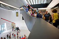 The MAXXI National Museum of the Arts of the XXI century in Rome, March 2, 2010.