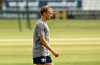 Aaron Beard of Essex warms up prior to Essex Eagles vs Surrey, Vitality Blast T20 Cricket at The Cloudfm County Ground on 11th September 2020