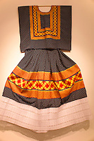 Embroidered dress  from the state of Oaxaca, Mexico