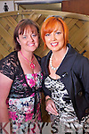 Pamela Teehan and Geraldine Flynn, Tralee  at the Rose of Tralee Fashion Show at the Dome on Sunday Night.