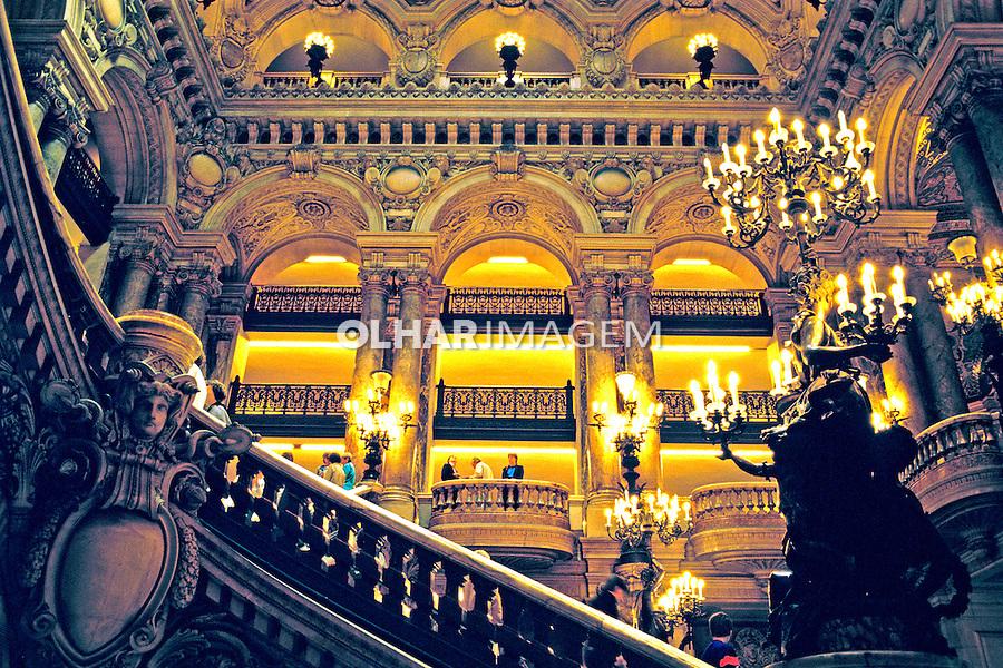 Teatro Opera de Paris. França. 1995. Foto de João Caldas.