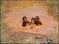 Cool down in the hot semi desert of the Great Karoo,Nieu Bethesda, SA 2006