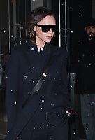 NEW YORK, NY - FEBRUARY 7: Victoria Beckham seen in New York City on February 7, 2018. Credit: RW/MediaPunch