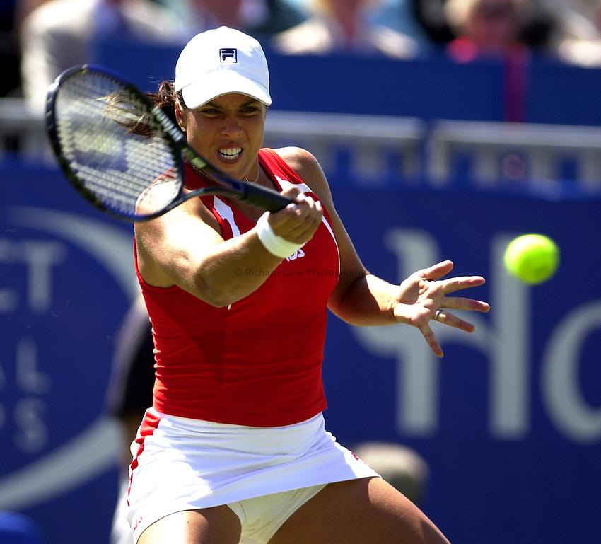 Photo: Richard Lane..Hastings Direct International Championship 2003..20/06/2003..Jennifer Capriati