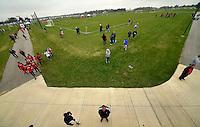 Westfield, IN - October 15, 2016: The U.S. Soccer Development Academy 2016 U-13/U-14 Central Regional Showcase at Grand Park.