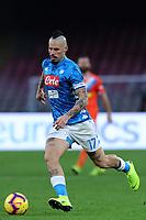 Marek Hamsik  Napoli<br /> Napoli 22-12-2018  Stadio San Paolo <br /> Football Campionato Serie A 2018/2019 <br /> Napoli - Spal<br /> Foto Cesare Purini / Insidefoto