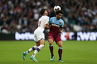 Joel Ward of Crystal Palace and Felipe Anderson of West Ham United during West Ham United vs Crystal Palace, Premier League Football at The London Stadium on 5th October 2019