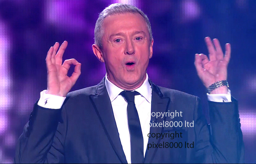 ITV X factor final<br /> Judges<br /> <br /> Louie Walsh<br /> <br /> <br /> Pic supplied by Pixel 8000 Ltd