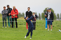 Matthew Fitzpatrick (ENG) on the 13th fairway during Round 2 of the 100th Open de France, played at Le Golf National, Guyancourt, Paris, France. 01/07/2016. <br /> Picture: Thos Caffrey | Golffile<br /> <br /> All photos usage must carry mandatory copyright credit   (&copy; Golffile | Thos Caffrey)