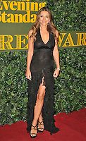 Elizabeth Hurley at the London Evening Standard Theatre Awards 2016, The Old Vic, The Cut, London, England, UK, on Sunday 13 November 2016. <br /> CAP/CAN<br /> &copy;CAN/Capital Pictures /MediaPunch ***NORTH AND SOUTH AMERICAS ONLY***
