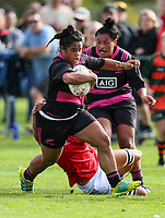 Women's rugby match between the New Zealand Black Ferns and NZ Barbarians at Pakuranga Rugby Club in Pakuranga, New Zealand on Sunday, 26 May 2019. Photo: Simon Watts / lintottphoto.co.nz