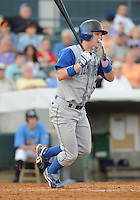 July 7, 2008: Outfielder Joe Dickerson (30) of the Wilmington Blue Rocks, Class A affiliate of the Kansas City Royals, in a game against the Myrtle Beach Pelicans at BB&T Coastal Field in Myrtle Beach, S.C. Photo by:  Tom Priddy/Four Seam Image