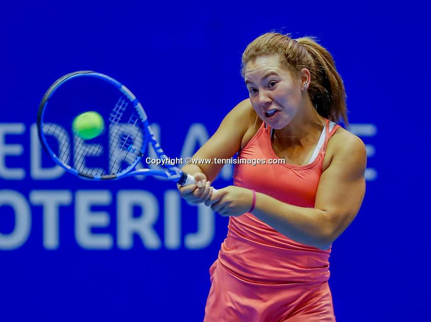 Rotterdam, Netherlands, December 13, 2017, Topsportcentrum, Ned. Loterij NK Tennis, Donnaroza Gouvernamte  (NED)<br /> Photo: Tennisimages/Henk Koster