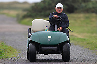 John Carroll  Ireland team captain on the 10th during Round 3 Foursomes of the Men's Home Internationals 2018 at Conwy Golf Club, Conwy, Wales on Friday 14th September 2018.<br /> Picture: Thos Caffrey / Golffile<br /> <br /> All photo usage must carry mandatory copyright credit (&copy; Golffile | Thos Caffrey)