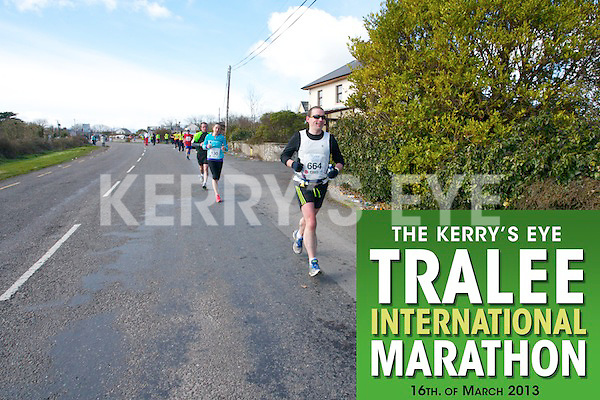 0664 Paul Teahan and 0130 Amanda Cunniffe  who took part in the Kerry's Eye, Tralee International Marathon on Saturday March 16th 2013.