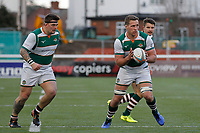 Ryan Smid of Ealing Trailfinders in action during the Championship Cup Quarter Final match between Ealing Trailfinders and Nottingham Rugby at Castle Bar , West Ealing , England  on 2 February 2019. Photo by Carlton Myrie / PRiME Media Images.