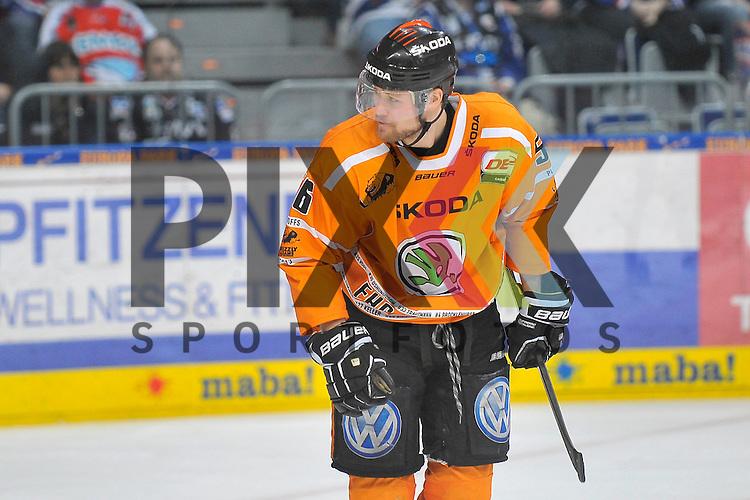 Wolfsburgs Vincenz Mayer (Nr.56) beim Spiel in den Playoff der DEL, Adler Mannheim - Grizzly Adams Wolfsburg.<br /> <br /> Foto &copy; Ice-Hockey-Picture-24 *** Foto ist honorarpflichtig! *** Auf Anfrage in hoeherer Qualitaet/Aufloesung. Belegexemplar erbeten. Veroeffentlichung ausschliesslich fuer journalistisch-publizistische Zwecke. For editorial use only.