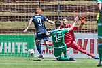 11.01.2019, Bidvest Stadion, Braampark, Johannesburg, RSA, FSP, SV Werder Bremen (GER) vs Bidvest Wits FC (ZA)<br /> <br /> im Bild / picture shows <br /> Martin Harnik (Werder Bremen #09) mit Torschuss und Tor zum 1:1 Ausgleich für Bidvest Wits gegen Jiri Pavlenka (Werder Bremen #01), Sebastian Langkamp (Werder Bremen #15), <br /> <br /> Foto © nordphoto / Ewert