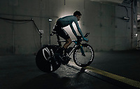 Fabio Aru (ITA/Astana) rolling away underneath the Orange Vélodrome after his TT<br /> <br /> 104th Tour de France 2017<br /> Stage 20 (ITT) - Marseille › Marseille (23km)