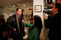 February 16 2006, Montreal (Qc) Canada<br /> Premiere QUE DIEU BENISSE L AMERIQUE   au cinema Imperial<br /> RV Cinema Quebecois<br /> Photo : Delphine Descamps / Images Distribution
