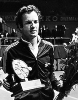 1974, ABN tennis, Winner Tom Okker , Netherlands,