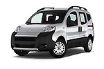 Stock pictures of low aggressive front three quarter view of a 2017 Citroen Nemo  base 5 Door Mini Van