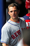 1 March 2011: New York Mets' third baseman David Wright stands in the dugout during a Spring Training game against the Washington Nationals at Space Coast Stadium in Viera, Florida. The Nationals defeated the Mets 5-3 in Grapefruit League action. Mandatory Credit: Ed Wolfstein Photo