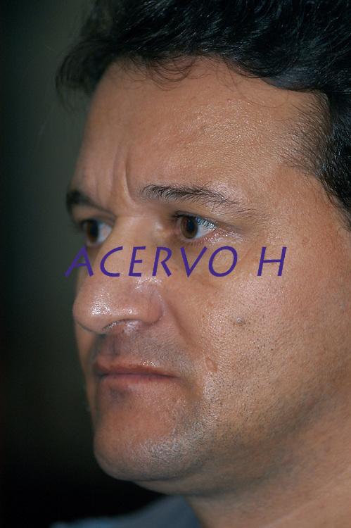 Julgamento de Amair Feijoli da Cunha, o Tato, , acusado de ser o intermediário no assassinato de Dorothy Stang, morta em 12 de fevereiro de 2005 por Clodoaldo Carlos Batista conhecido como Eduardo e Raifran das Neves Sales o Fogoió, é condenado a 18 anos em regime fechado.Belém, Pará, Brasil.Foto Paulo Santos/Interfoto<br /> 26/04/2006