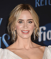 LOS ANGELES, CA - NOVEMBER 29: Emily Blunt attends the Premiere Of Disney's 'Mary Poppins Returns' at El Capitan Theatre on November 29, 2018 in Los Angeles, California.<br /> CAP/ROT/TM<br /> &copy;TM/ROT/Capital Pictures