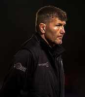 Exeter Chiefs' Head Coach Rob Baxter<br /> <br /> Photographer Bob Bradford/CameraSport<br /> <br /> Gallagher Premiership - Bath Rugby v Exeter Chiefs - Friday 5th October 2018 - The Recreation Ground - Bath<br /> <br /> World Copyright &copy; 2018 CameraSport. All rights reserved. 43 Linden Ave. Countesthorpe. Leicester. England. LE8 5PG - Tel: +44 (0) 116 277 4147 - admin@camerasport.com - www.camerasport.com