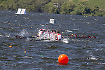 Rowing, Rowing Canada, Men's Eight, workout, 2010 FISA World Rowing Championships, Lake Karapiro, Hamilton, New Zealand, rough water, Saturday, 30, Oct,