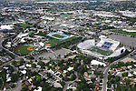 1309-22 3392<br /> <br /> 1309-22 BYU Campus Aerials<br /> <br /> Brigham Young University Campus, Provo, <br /> <br /> Miller Park MLRP, Track and Field Complex TRAK, Lavell Edwards Stadium LES<br /> <br /> September 6, 2013<br /> <br /> Photo by Jaren Wilkey/BYU<br /> <br /> &copy; BYU PHOTO 2013<br /> All Rights Reserved<br /> photo@byu.edu  (801)422-7322