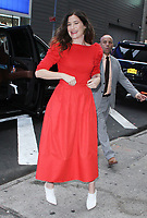 NEW YORK, NY - OCTOBER 4: Kathryn Hahn seen at GMA Day in New York City on October 04, 2018. <br /> CAP/MPI/RW<br /> &copy;RW/MPI/Capital Pictures