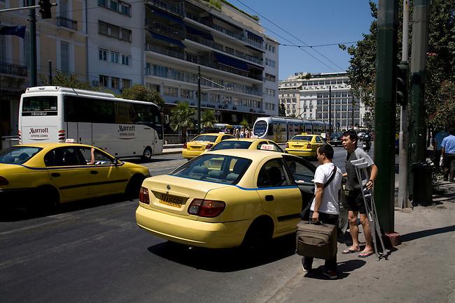 Vasilissis Amalias Avenue Athens Greece