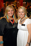Meredith Riddle and Liz Anders at the annual Cattle Barron's Ball at the George Ranch Saturday April 25,2009.(Dave Rossman/For the Chronicle)
