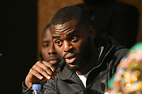 Joshua Buatsi during a Press Conference at the Grange City Hotel on 6th February 2019