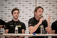 DS Matt White<br /> <br /> Team Mitchelton-Scott press conference 1 day ahead of the 106th Tour de France 2019 (2.UWT) 'Grand Départ' in Brussels<br /> <br /> ©kramon