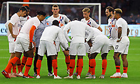 Niederland bespricht sich beim Aufwärmen - 13.10.2018: Niederlande vs. Deutschland, 3. Spieltag UEFA Nations League, Johann Cruijff Arena Amsterdam, DISCLAIMER: DFB regulations prohibit any use of photographs as image sequences and/or quasi-video.