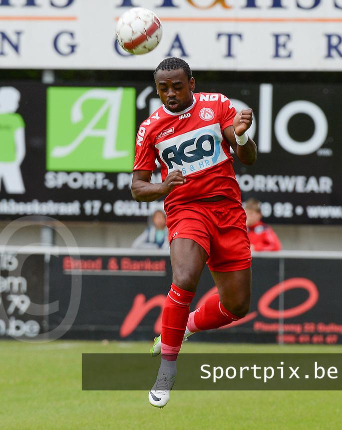 KV Kortrijk : Landry Mulemo <br /> foto VDB / BART VANDENBROUCKE