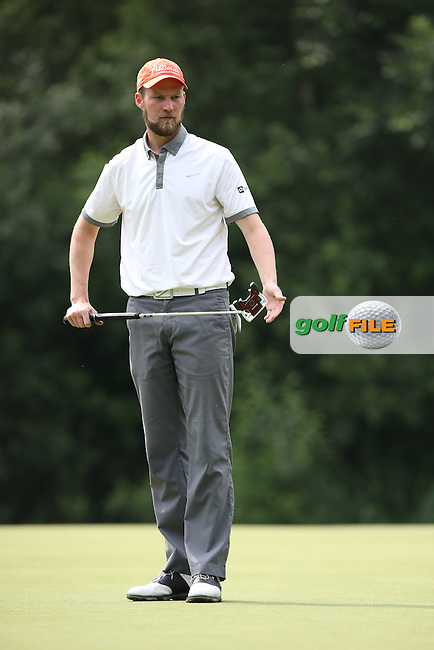 Playing on his own Anton Kirstein (GER) cared a 69 during Round Three of the 2015 BMW International Open at Golfclub Munchen Eichenried, Eichenried, Munich, Germany. 27/06/2015. Picture David Lloyd | www.golffile.ie