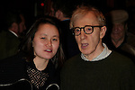 Woody Allen and Soon-Yi Allen.Attending the Opening Night Performance of.TWENTIETH CENTURY at the American Airlines Theatre in New York City..March 25, 2004.© Walter McBride /