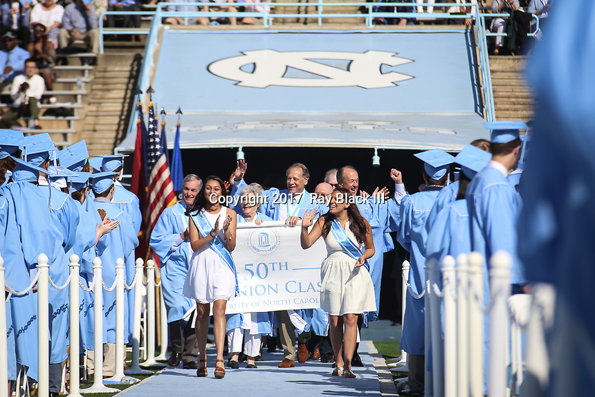 UNC GAA's Spring Reunion weekend on Sunday, May 14, 2017.