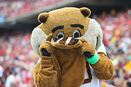 College Park, MD - September 22, 2018:  Minnesota Golden Gophers mascot snaps a picture with his tail during the game between Minnesota and Maryland at  Capital One Field at Maryland Stadium in College Park, MD.  (Photo by Elliott Brown/Media Images International)
