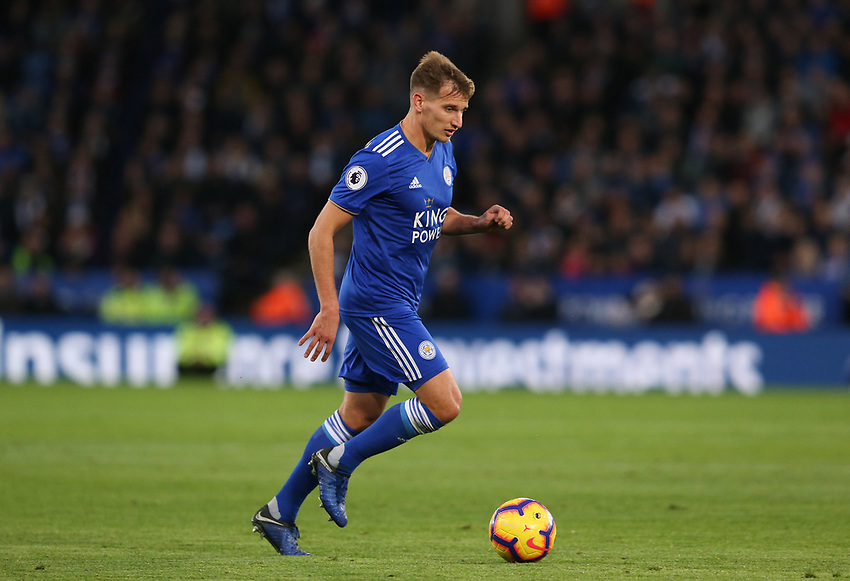 Leicester City's Marc Albrighton <br /> <br /> Photographer Stephen White/CameraSport<br /> <br /> The Premier League - Leicester City v Watford - Saturday 1st December 2018 - King Power Stadium - Leicester<br /> <br /> World Copyright © 2018 CameraSport. All rights reserved. 43 Linden Ave. Countesthorpe. Leicester. England. LE8 5PG - Tel: +44 (0) 116 277 4147 - admin@camerasport.com - www.camerasport.com