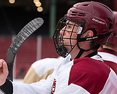 Chris Shero (BC - 23) - The Boston College Eagles practiced on the rink at Fenway Park on Friday, January 6, 2017.