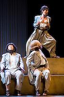 """Maria Galiana, Pastora Vega and Concha Delgado during theater play """"La Asamblea de las Mujeres"""" at Teatro La Latina in Madrid. August 23 2016. (ALTERPHOTOS/Borja B.Hojas) /NORTEPHOTO.COM"""